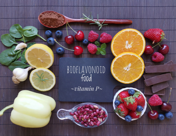 Foods high in bioflavonoids