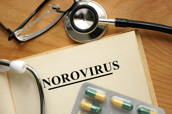 Word Norovirus with medicine